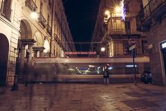 Ghosts (Rebel Yell 82nd) Tags: street italy bus night torino nikon italia motionblur ghosts luci turin notte luce viagaribaldi d610 fantasmi lungaesposizione