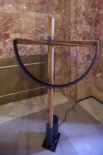 Exposición 'Leonardo' Homenaje del Arte a la Ciencia en la sede del CSIC. 'Imagine' de Salim Malla  © JOAN COSTA