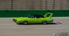 1970 Plymouth Superbird (scott597) Tags: original green drive kentucky plymouth sparta 1970 440 owner patina speedway superbird 2015 drave