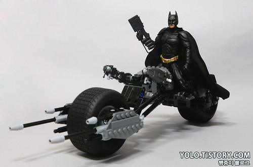 Lego 5004590 Bat Pod And Mafex Batman 20 A Photo On Flickriver