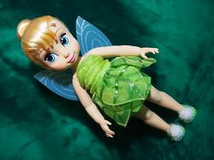 Disney Animators Tinker Bell (sh0pi) Tags: doll bell tinkerbell disney collection fairy fairies disneystore puppe tinker fee animators deboxed