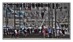Mirrored Mtro Marseille (kurtwolf303) Tags: city people france topf25 buildings reflections mirror marseille topf50 frankreich topf75 europe 500v20f spiegel platz streetphotography menschen stadt spiegelung gebude hdr personen 900views strase photomatixpro urbanlifeinmetropolis 750views 1000v40f 250v10f lovelycity mtromarseille unlimitedphotos canoneos600d canont3i