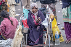 INDIA7443 (Glenn Losack, M.D.) Tags: street people india portraits photography delhi muslim islam poor photojournalism buddhism impoverished beggar flip flops local hindu scenics handicapped deformed beggars glennlosack losack glosack dahlits photographyxstreet