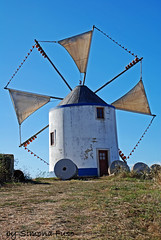 Mulino a vento (Simona Fuso) Tags: travel photo obidos simona fuso viaggi viaggio mulino portogallo