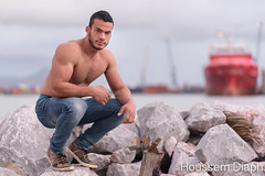 YassR (H.Diaph) Tags: shirtless hairy sexy pecs model muscle young arab biceps beastmode