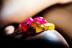 Candy Dancer 3 (Jef Harris) Tags: macro lights nikon shadows candy jef harris homestudio d80 chaosacademy