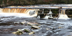 River Swale Richmond 15 (717Images) Tags: swale river richmond waterfall yorkshire dales flowing peat coloured winter