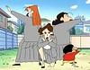 Shin Chan (hernánpatriciovegaberardi (1)) Tags: shin chan piernas legs rodillas knees anime las chicas del ejercito de escarlata