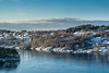 """""""Winter coastal landscape"""" (Terje Helberg Photography) Tags: haganes boat cloud clouds cloudscape coast coastal coastalenvironement frozen house houses ice island landscape natur nature scenery sea seascape sky snow tree trees view viewpoint water winter norway hordaland sotra"""