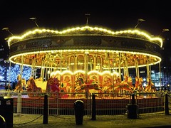Galloping Horses Carousel (lady.bracknell) Tags: liverpool albertdock merrygoround carousel roundabout