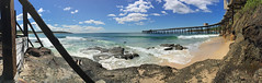 Catherine Hill Bay (smurfie_77) Tags: catherinehillbay coaljetty abandoned disused brisbanetosydney roadtrip newsouthwales nsw pacificocean panorama iphone6s history