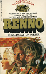 Novel-Renno-Donald-Clayton-Porter (Count_Strad) Tags: novel book pages read reading pulp louislamour western oldwest gunfight outlaw indian cowboy