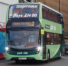 Chester (Andrew Stopford) Tags: sn66vzx adl enviro400 mmc stagecoach chester