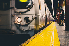(cvillandry (Instagram & Twitter @cvillandry)) Tags: fujifilm manhattan newyork nyc streetphotography x100t subway mta 34th street transportation city train