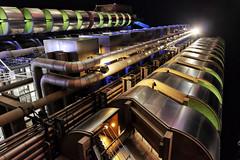 Imbroglio (Douguerreotype) Tags: london uk futuristic dark light british buildings lloyds architecture city britain night gb urban england