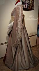 Coruscant Kimono v2.0 (ATsuri AT's LALAland) Tags: coruscantkimono queenamidala gown dress costume star wars phantom menace atslalaland padme obi diamond pattern fabric beadwork headdress