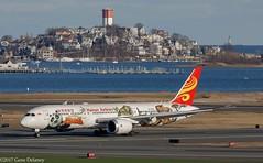 "Hainan Airlines, B-1540, 2016 Boeing B787-9 Dreamliner, MSN 62715, LN 473, ""Kung Fu Panda"" (Gene Delaney) Tags: hainanairlines b1540 2016boeingb7879dreamliner msn62715 ln473 kungfupanda boston eastboston massachusetts 789 hu kbos bos loganinternationalairportwinthropjetplanejetairlinerspecialliverykungfupanda dreamworks speciallivery winthrop"