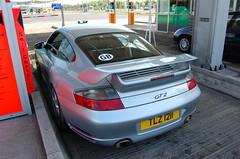 Porsche 996 GT2 (D's Carspotting) Tags: porsche 996 gt2 france coquelles calais grey 20100613 tlz1211 le mans 2010 lm10 lm2010