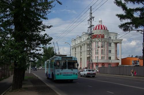 Irkutsk trolleybus VMZ-170 253 ©  trolleway