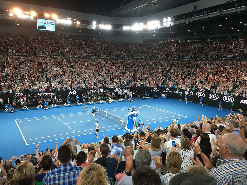 Australian Open 2017 Final - Roger Feder by Phillie Casablanca, on Flickr