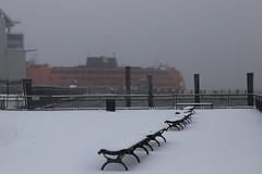 Winter Storm Stella - Staten Island Ferry (NYCDOT) Tags: statenislandferry nycdot winterstorm