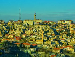 Türkiye/Nevşehir (Kapadokya)...