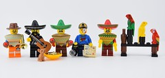 Guess where I'm going for holidays (Alex THELEGOFAN) Tags: lego legography minifigures minifig minifigure minifigs minifigurine minifigurines movie the emmet poncho mexican mexico mexique me alex fan thelegofan taco tuesday parrot tacos
