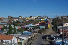 imgp4625 (Mr. Pi) Tags: city houses hills colors stairs chile patagonia puntaarenas
