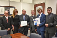 Visit from Ocean County VoTech Capitol Hill Challenge Team
