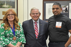 Menendez Meets with Jefferson Award Recipients