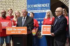 Menendez Calls for Federal Ban on Gun Silencers