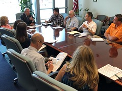 Menendez Holds Flood Insurance Roundtable with South Jersey Shore Mayors, Residents, Business Owners