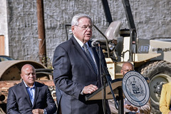 Menendez, Norcross, Camden Mayor Moran Break Ground on Major Federal Infrastructure Improvement Project