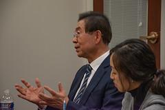 Meeting with Mayor of Seoul, South Korea Park Won-soon