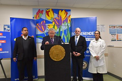 Menendez Visits Local Community Health Center, Provides Coronavirus Response Update