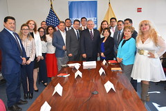 Menendez Hosts Roundtable with NJ's Ecuadorian Community