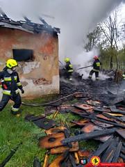 29-04-2020 -  Pożar Bulowice 5