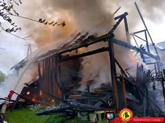 29-04-2020 -  Pożar Bulowice 1