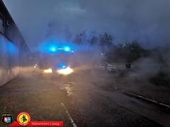 Pożar samochodu dostawczego 5