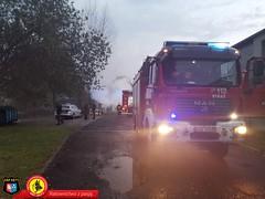 Pożar samochodu dostawczego 6