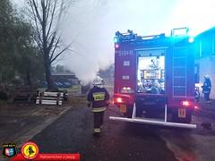 Pożar samochodu dostawczego 10