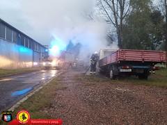 Pożar samochodu dostawczego 4