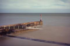 Watching The Sea (Ralph Graef) Tags: uk sea summer seascape beach coast kent pole shore ramsgate waterscape