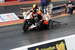 Supertwin (Fast an' Bulbous) Tags: santa summer england test pits bike race speed drag pod nikon track power gimp fast august testing motorbike strip motorcycle rwyb santapod acceleration d7100