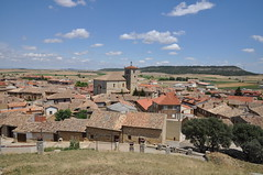 Astudillo (Palencia) visto desde el Castillo de la Mota (santi abella) Tags: españa palencia castillayleón astudillo