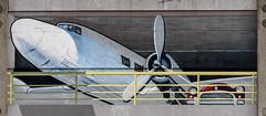 Nose Up (Jocey K) Tags: city newzealand christchurch urban streetart building artwork mural cbd deconstruction manchesterstcarparkingbuilding