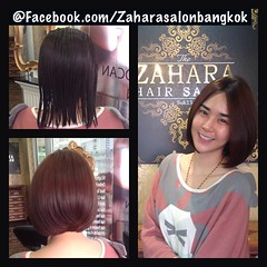 Bob Short Haircut @ Zahara Hair Salon  ตัดผมบ๊อบสั้น บ๊อบเก๋ๆดูมีเสน่ห์และดูแลง่าย เปลี่ยนสไตล์จากสาวผมยาว  เป็นสาวทันสมัยด้วยทรงผมที่คุณชื่นชอบ (สั้นแล้วสั้นได้อีก !!!)  ตัดผมสั้นพร้อมสะบัดได้ทุกโอกาสกับผมสวยที่ The Zahara Salon  #Zaharasalonbangkok  #Su
