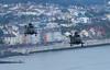 Westland Sea King HC.4s ZG821 and ZF117, Royal Navy, Dawlish, Devon (Kev Slade Too) Tags: devon westland seaking royalnavy dawlish zg821 zf117