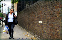 `1508 (roll the dice) Tags: uk school portrait people urban bus sexy london art classic girl westminster look fashion wall shopping asian happy pretty natural boots bell candid streetphotography ears stranger unknown strong marylebone londonist unawaew