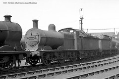 c.06/1960 - Gorton (9G) MPD &/or Works, Manchester. (53A Models) Tags: railroad train manchester railway steam locomotive 3f midland gorton 060 lms mpd britishrailways deeley 9g 43809